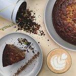 Organic Teas and homemade cakes