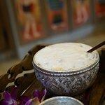 Thai almond coffee