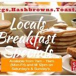 Locals Breakfast Specials