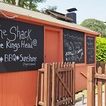 The summer BBQ & drinks Shack in the Garden