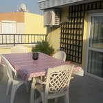 Large sunny terrace with sea views!