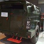 Actual wartime vehicle