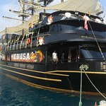 """Наш корабль """"Медуза"""" ждет нас."""