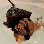 The best vegan chocolate cake and ice cream