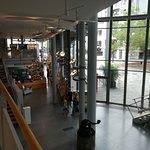 Die Lobby im Museum