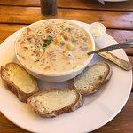 Bowl of Salmon Chowder