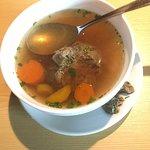 Griesknödel Suppe