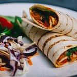 Fajita Pepper, Tomato and Spinach Wrap