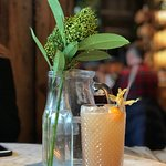 'Rumpelstiltskin's Sour' made with rum, cinnamon, lemon and apple schnapps