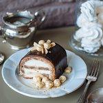 Classic sour cream cake.
