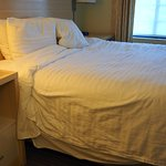 This is the way housekeeping made the bed up...