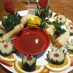 Okabe Sushi Atibaia - Rozízio e A la carte. Harumaki (legumes e queijo)