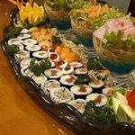 Okabe Sushi Atibaia - Rozízio e A la carte.