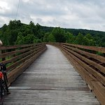 One of the bridges as you enter Ohiopyle from the GAP bike trail.