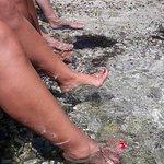 Agios Stefanos Beach resmi