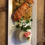 New Summer Menu - Tuscan Pan Seared Salmon Fillet in Coconut and Sweet Chili Sauce