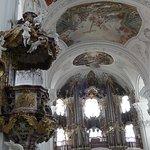 Basilica dell 'Abbazia di Weingaren - pulpito