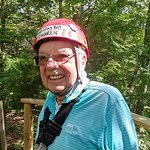 My Dad at Zoar Outdoor on his 83rd Birthday!