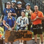 Our zipline group