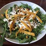 Corn Salad - light dressing, fresh ingredients.