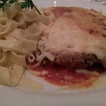 Filet a Parmigiana com Talharim do Alfredo!