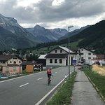 Ortseingang Müstair - Schweiz