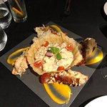 Lobster Thermidor, very tasty.