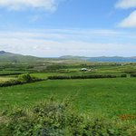 Beautiful farming country in Dingle Bay