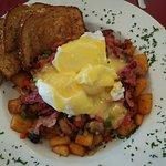 Corn Beef Hash Breakfast Bowl