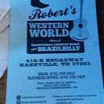 Bild från Robert's Western World