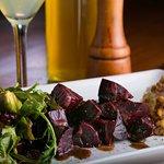 Honey Roasted Beet & Arugula Salad