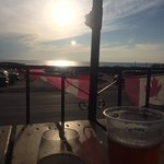 Sola's Grill - dinner by the sunset