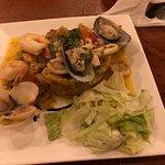 Seafood mofongo