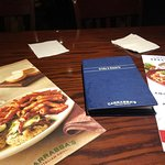 Carrabba's table menus, July 2018
