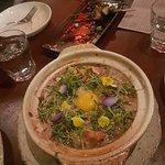 Sopa de vegetales con huevo
