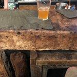Old wood bar