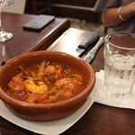 Delicious shrimp small plate.
