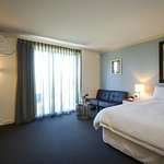 Deluxe Room - King Size Bed also available as twin share