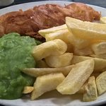 Best fish and chips you will ever taste !