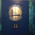 Locker Room Door