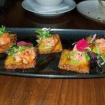 crispy rice and tuna