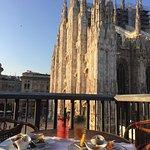 Aperitivo vista Duomo, solo da Giacomo Arengario.
