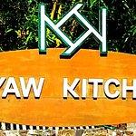 Our Restaurant had this billboard in Khwarnyo street, New Bagan.
