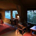 Glamorously vintage Rekero camp tent