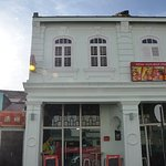 Lucaffe Asia located in this colonial building on Carnarvon Street