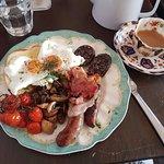 Big meaty breakfast