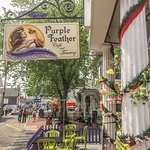 Foto van The Purple Feather Cafe & Treatery