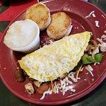 vegetarian omelett