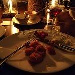 Panko fried calamari