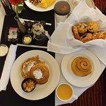 Room Service Breakfast--Yummy!